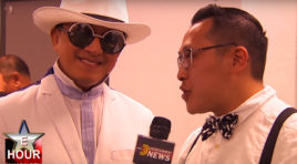 EXCLUSIVE BACKSTAGE INTERVIEW WITH THAI SINGER, TIK SHIRO