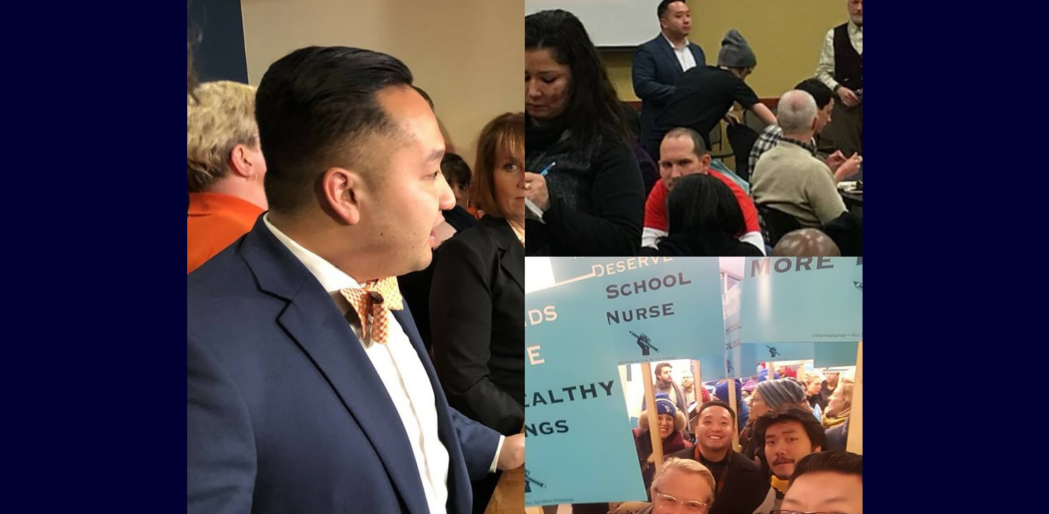 UPDATES FROM REP. FUE LEE TOWN HALL MEETING