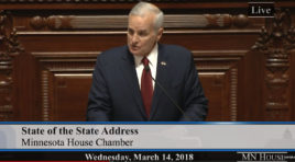 WATCH GOVERNOR DAYTON'S LAST STATE OF THE STATE ADDRESS
