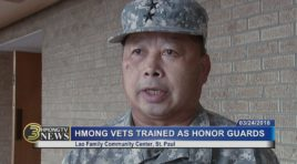 HMONG SGU VETERANS TRAINED AS HONOR GUARDS