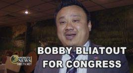 BOBBY BLIATOUT IS IN MINNESOTA TO RALLY FOR SUPPORT OF HIS CANDIDACY FOR CONGRESS