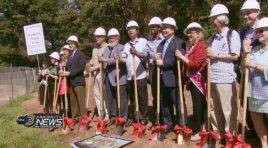 China Friendship Garden Groundbreaking