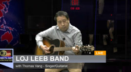 MORNING SHOW: THOMAS VANG, LEAD GUITARIST/SINGER FOR LOJ LEEB BAND.