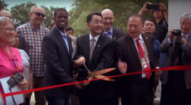 GRAND OPENING CELEBRATION OF CHINA FRIENDSHIP GARDEN IN ST. PAUL.