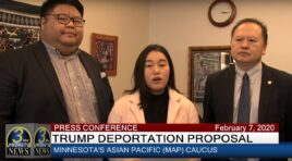 PRESS CONFERENCE – HMONG AMERICAN ELECTED OFFICIALS RESPOND TO TRUMP DEPORTATION POLICY.
