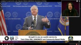 HMONG TRANSLATION OF GOV. TIM WALZ COVID-19 BRIEFING.