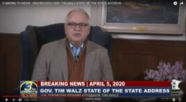 GOV. TIM WALZ DELIVERED STATE OF THE STATE ADDRESS.