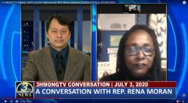 3HMONGTV CONVERSATION WITH GUEST REP. RENA MORAN.